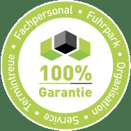 100% Service Qualität