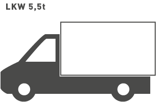 20 - 25 m³ LKW 5,5t